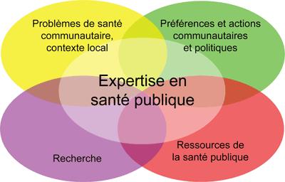 Modèle de prise de décisions fondée sur des données probantes en santé publique