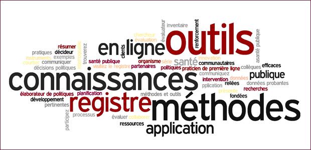 Le Registre des méthodes et des outils