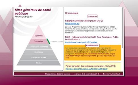 Pyramides de recherche du CCNMO