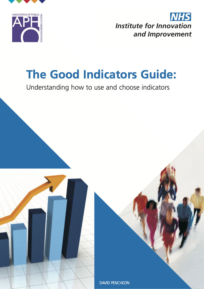 The Good Indicators Guide: Understanding how to use and Choose Indicators