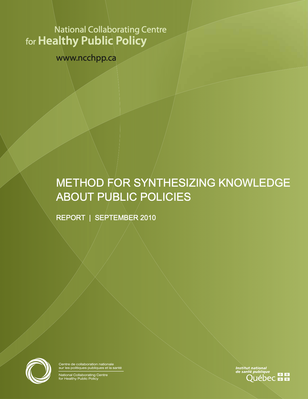 Method for Synthesizing Knowledge about Public Policies