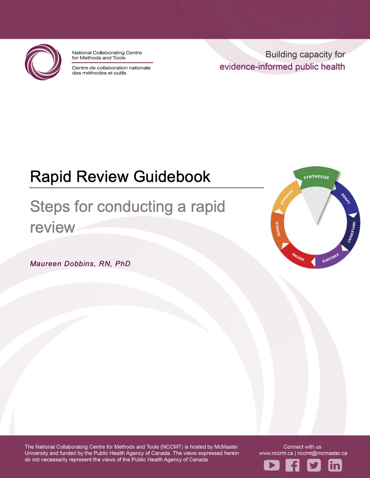 NCCMT Rapid Review Guidebook